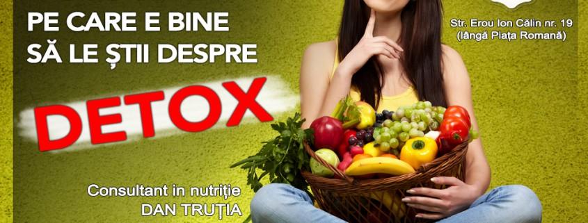 Cele 7 Secrete ale unui detox reusit